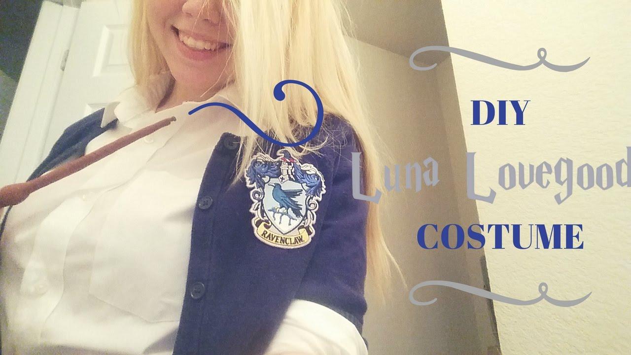 Halloween DIY Luna Lovegood Costume CHEAP HARRY POTTER GEAR Ravenclaw - YouTube & Halloween DIY Luna Lovegood Costume CHEAP HARRY POTTER GEAR ...