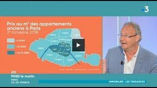 9H50 LE MATIN focus sur l'immobilier à Paris 06 09 2018