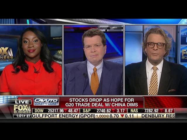 Paul Dietrich - Fox Business News - Neil Cavuto - 11-29-2018