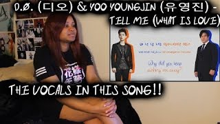 REACTION TO D.O. (디오) & Yoo Youngjin (유영진) - Tell Me (What is Love) Lyrics (Color-Coded HanRomEng)