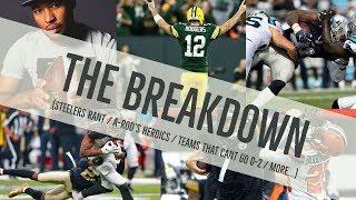 [The Breakdown] - NFL Week 2- SEPT 12th 2018 - FULL EPISODE