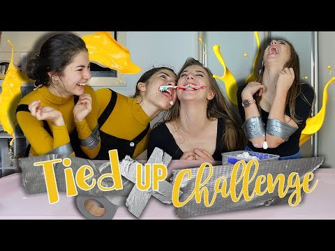 THE TIED UP CHALLENGE! || Georgia Productions