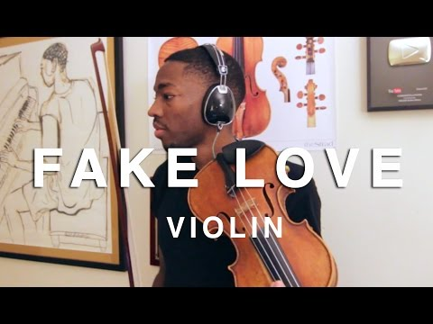 Violinist Kills Fake Love 🎻