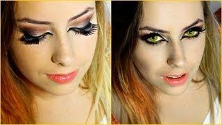 """Maquiagem """"Olho de Gato"""" Com Amanda Domenico"""