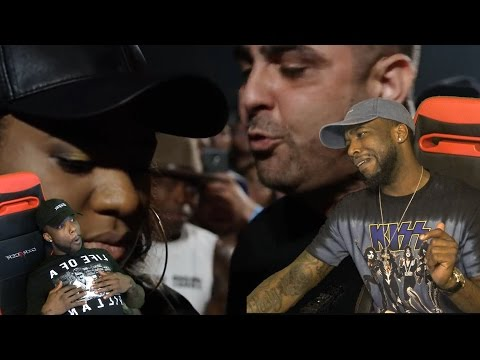 THE MOST INSULTING THING ANY MAN COULD DO TO A WOMEN!  Rap Battle - Dizaster vs O'fficial