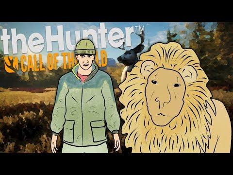 The Hunter Call Of The Wild Монтаж -  Дружба со Львом | SergeyRed