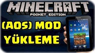 Minecraft Pocket Edition Mod Nasıl Yüklenir? (AOS)   0.12.2