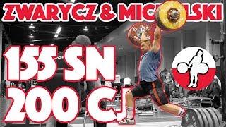 Zwarycz & Michalski Heavy Training (155kg Snatch + 200kg Clean and Jerk) - 2017 WWC [4k 60]