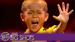 Little Big Shots | Mini Bruce Lee Recreates Fist Of Fury