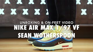 Nike Air Max 1/97 VF Sean Wotherspoon On feet & Unboxing Video at Exclucity