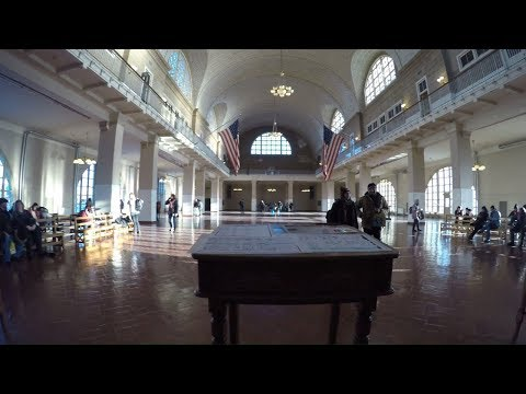 ⁴ᴷ Walking Tour of Ellis Island (Historical Immigration Center of the United States)