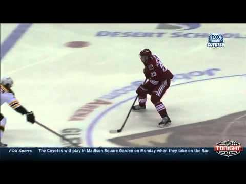 Oliver Ekman-Larsson Sick Move and Goal vs. Boston
