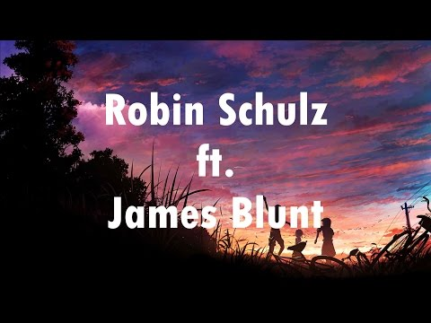 Robin schulz ft. James Blunt - OK (Lyrics Video)