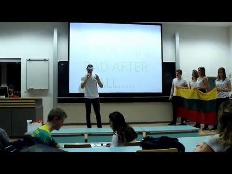 Presentation of Lithuania (Brno, 2016)