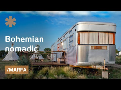 Cosmic Marfa: vintage trailer park in West Texas artist town