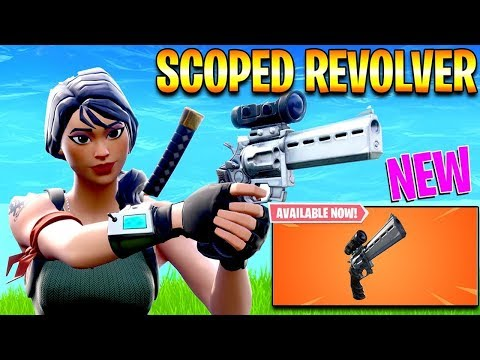 NEW SCOPED REVOLVER IS OUT!! - SEASON 7 SCOPED REVOLVER GAMEPLAY