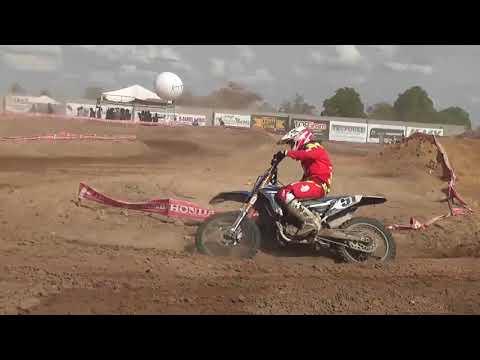Cat. MX2 na Copa Bahia de Motocross em Capim Grosso Ba