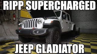 First RIPP Supercharged Jeep Gladiator!
