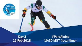 2018 World Para Alpine Skiing World Cup | Kimberley | Day 3