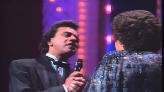 Johnny Mathis & Patti Austin - Baby come to me - Live (1991)