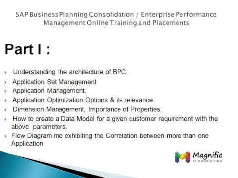 sap business planning and consolidation tutorialspoint
