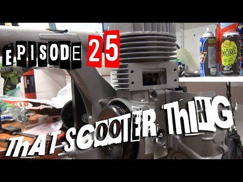 TST Ep. 25 - P200e Full Build, Part 2: Pinasco 225 Direct, engine and primary