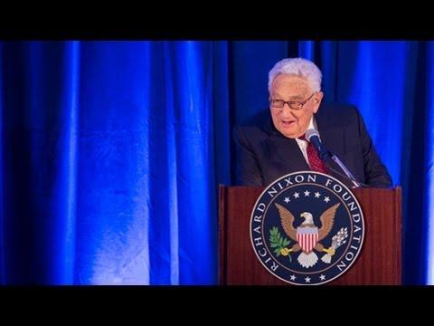 Dr. Henry Kissinger Keynotes Remarks at President Nixon's 100th Birthday