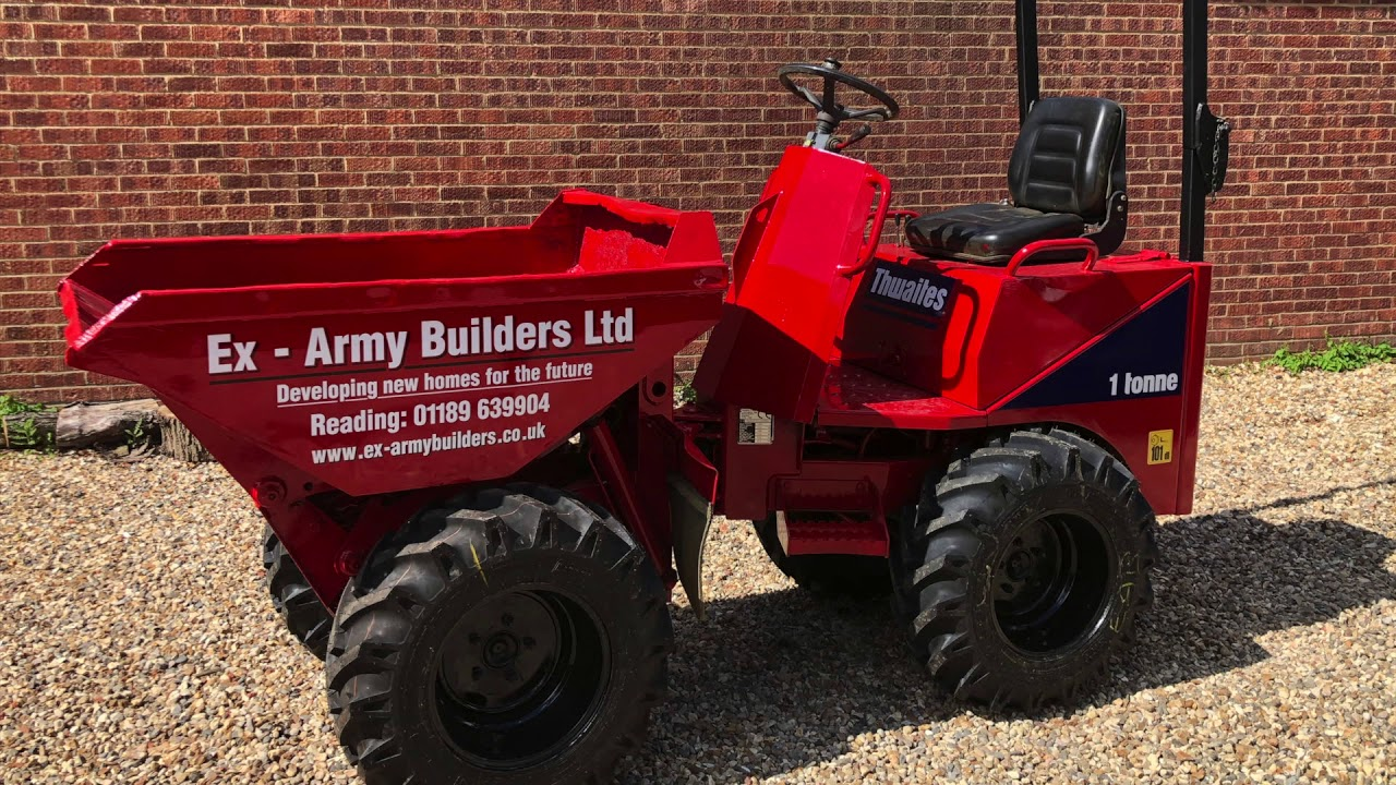 Ex-Army Builders Plant & Skip Hire 2020