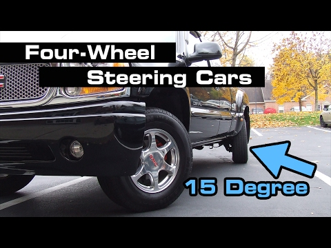 10 Uncommon 4-Wheel Steering Cars You May Not Know About