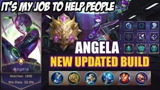 Angela Updated Build 2019 | Top Build for Angela by MARVSKIE GAMING! - Mobile Legends