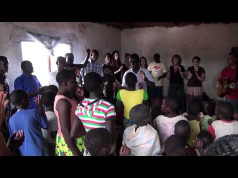 Singing at an Orphanage Malawian Style