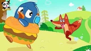 快跑!小福變成了大漢堡,有人要吃了他,兒童生活好習慣繪本故事| 兒童繪本 | 連環畫 | 故事書 | 睡前故事 | 寶寶巴士 | 奇奇 | 妙妙