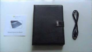 review 2 go leather case with detachable bluetooth keyboard for ipad 2