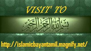 By Ash-Sheikh Abdul Khaliq (Deobandi) Tamil Bayan 2nd dec 2011 P1.wmv