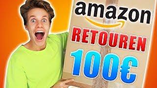 Ich habe AMAZON RETOUREN für 100€ bestellt