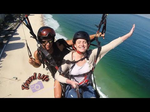 Hang gliding in Brazil | Travel Life |