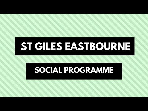 St Giles Eastbourne Social Programme
