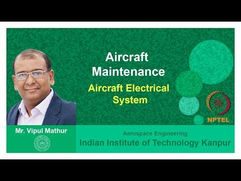 Lecture 09   Aircraft Electrical System