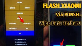 Flashing Redmi 3s - Cara FLASH 3 JARI Xiaomi - Terbaru