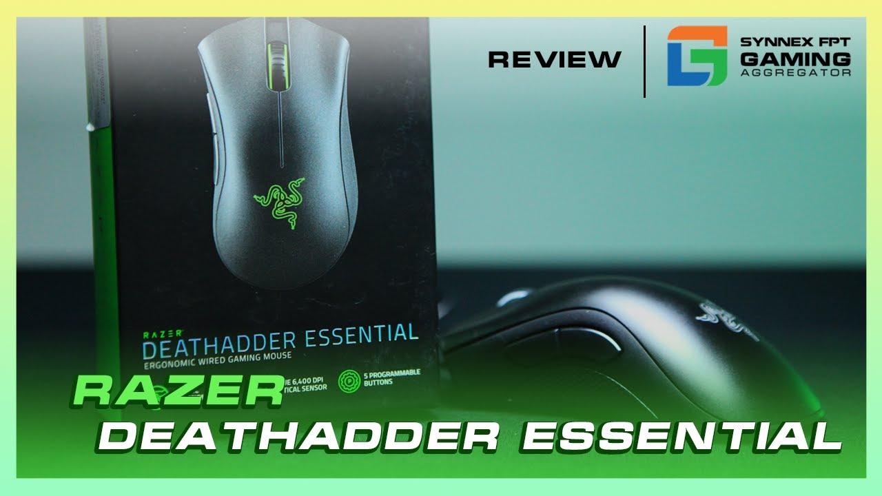 [REVIEW] Razer DeathAdder Essential | Khi huyền thoại được phổ cập tới tất cả game thủ