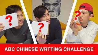 CAN CHINESE AMERICANS WRITE CHINESE? (Thought I'd Be Better Than This...)