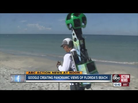 Google Maps Street View cameras on Tampa Bay area beaches to help increase tourism in Florida
