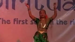 SWAGATHAM KRISHNA  DANCE BY ASWATHI