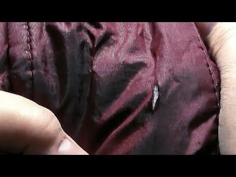 Как починить порванную болоневую куртку
