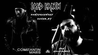 Iced Earth Consequences Cover By Jon Moudrihas Constantin Maris
