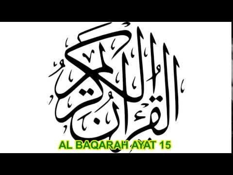 AL Baqarah ayat 15