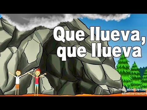 Que Llueva Que Llueva La Vieja Esta En La Cueva - Canciones Infantiles - Rondas  Videos Para Niños #