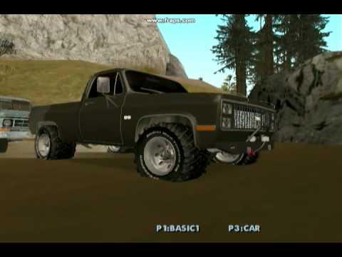 Truck Got Stuck (GTA SA)