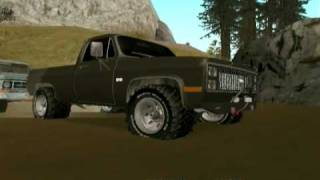 Truck Got Stuck (GTA SA)