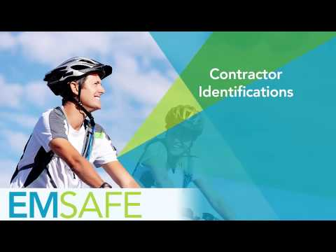 EMsafe - Contractor Identifications (Mobile)